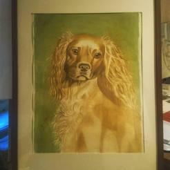 Lilla My, Akvarell