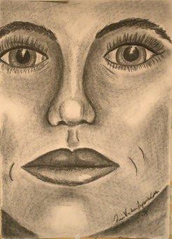 Ansikte i närbild